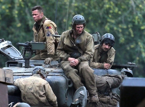 Brad Pitt'in Fury Filminden İlk Fragman!