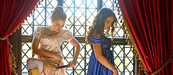 Pride and Prejudice na Zombies filminden ilk g�rsel