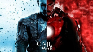 Captain America Civil War'dan yeni Tv reklamı