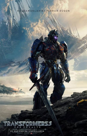 Transformers 5: Son Şövalye'den Big Game video geldi